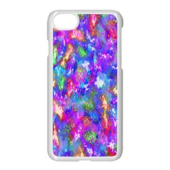 Abstract Trippy Bright Sky Space Apple Iphone 7 Seamless Case (white) by Simbadda