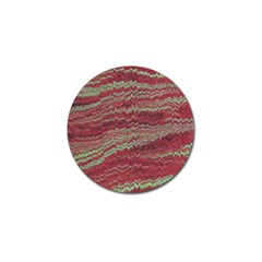 Scaly Pattern Colour Green Pink Golf Ball Marker by Alisyart