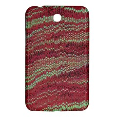 Scaly Pattern Colour Green Pink Samsung Galaxy Tab 3 (7 ) P3200 Hardshell Case  by Alisyart