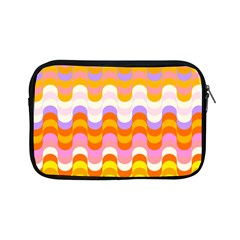 Dna Early Childhood Wave Chevron Rainbow Color Apple Ipad Mini Zipper Cases by Alisyart