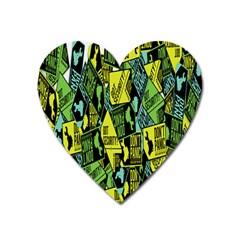 Don t Panic Digital Security Helpline Access Heart Magnet by Alisyart