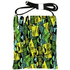Don t Panic Digital Security Helpline Access Shoulder Sling Bags by Alisyart