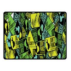 Don t Panic Digital Security Helpline Access Fleece Blanket (small) by Alisyart