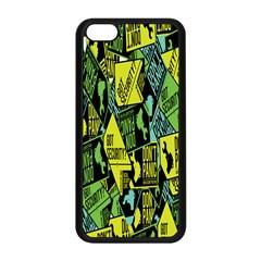 Don t Panic Digital Security Helpline Access Apple Iphone 5c Seamless Case (black) by Alisyart
