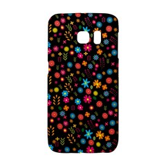 Floral Pattern Galaxy S6 Edge by Valentinaart