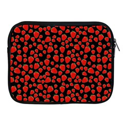 Strawberry  Pattern Apple Ipad 2/3/4 Zipper Cases by Valentinaart