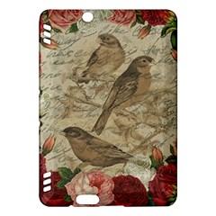 Vintage Birds Kindle Fire Hdx Hardshell Case by Valentinaart