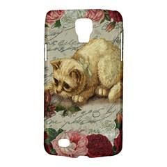 Vintage Kitten  Galaxy S4 Active by Valentinaart