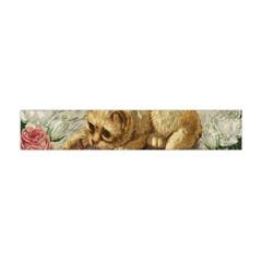 Vintage Kitten  Flano Scarf (mini) by Valentinaart