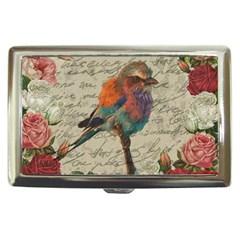 Vintage Bird Cigarette Money Cases by Valentinaart