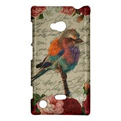Vintage Bird Nokia Lumia 720 by Valentinaart