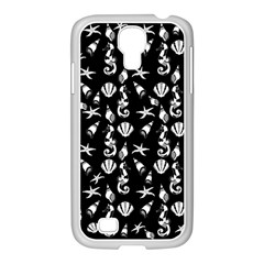 Seahorse Pattern Samsung Galaxy S4 I9500/ I9505 Case (white) by Valentinaart