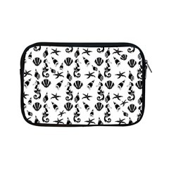 Seahorse Pattern Apple Ipad Mini Zipper Cases by Valentinaart