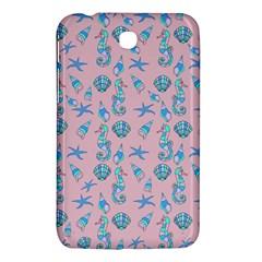 Seahorse Pattern Samsung Galaxy Tab 3 (7 ) P3200 Hardshell Case  by Valentinaart