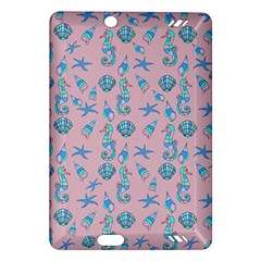 Seahorse Pattern Amazon Kindle Fire Hd (2013) Hardshell Case by Valentinaart