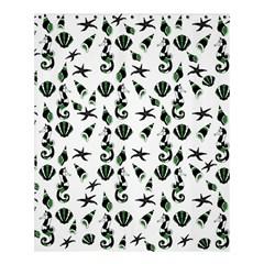 Seahorse Pattern Shower Curtain 60  X 72  (medium)  by Valentinaart