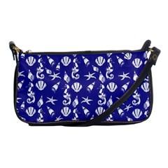 Seahorse Pattern Shoulder Clutch Bags by Valentinaart