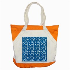Seahorse Pattern Accent Tote Bag by Valentinaart