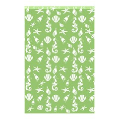 Seahorse Pattern Shower Curtain 48  X 72  (small)  by Valentinaart