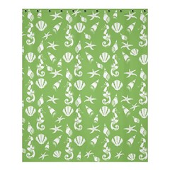 Seahorse Pattern Shower Curtain 60  X 72  (medium)  by Valentinaart