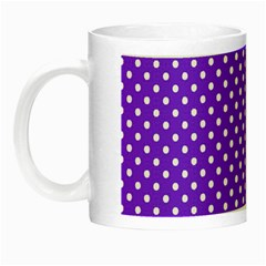 Polka Dots Night Luminous Mugs by Valentinaart