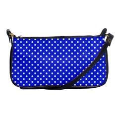 Polka Dots Shoulder Clutch Bags by Valentinaart