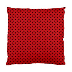 Polka Dots Standard Cushion Case (two Sides) by Valentinaart