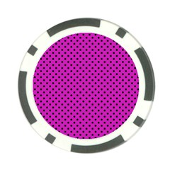 Polka Dots Poker Chip Card Guard (10 Pack) by Valentinaart