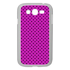 Polka Dots Samsung Galaxy Grand Duos I9082 Case (white) by Valentinaart