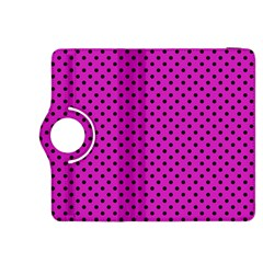 Polka Dots Kindle Fire Hdx 8 9  Flip 360 Case by Valentinaart