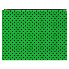 Polka Dots Cosmetic Bag (xxxl)  by Valentinaart