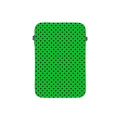 Polka Dots Apple Ipad Mini Protective Soft Cases by Valentinaart