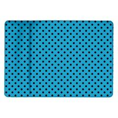 Polka Dots Samsung Galaxy Tab 10 1  P7500 Flip Case by Valentinaart