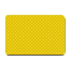 Polka Dots Small Doormat  by Valentinaart