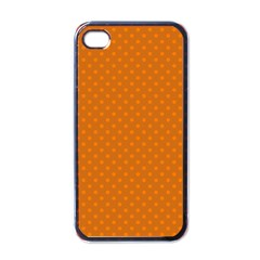 Polka Dots Apple Iphone 4 Case (black) by Valentinaart