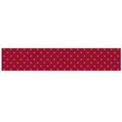 Polka Dots Flano Scarf (large) by Valentinaart