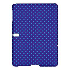 Polka Dots Samsung Galaxy Tab S (10 5 ) Hardshell Case  by Valentinaart