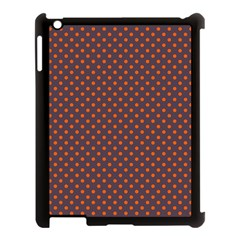 Polka Dots Apple Ipad 3/4 Case (black) by Valentinaart