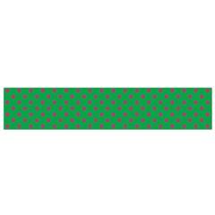 Polka Dots Flano Scarf (small) by Valentinaart