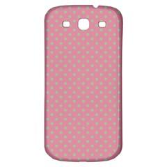 Polka Dots Samsung Galaxy S3 S Iii Classic Hardshell Back Case by Valentinaart