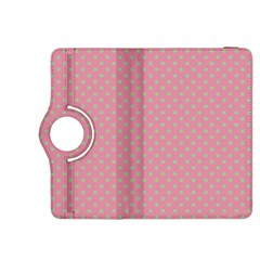 Polka Dots Kindle Fire Hdx 8 9  Flip 360 Case by Valentinaart
