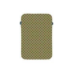 Polka Dots Apple Ipad Mini Protective Soft Cases by Valentinaart