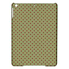 Polka Dots Ipad Air Hardshell Cases by Valentinaart