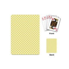 Polka Dots Playing Cards (mini)  by Valentinaart