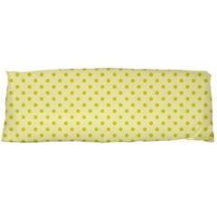 Polka Dots Body Pillow Case Dakimakura (two Sides) by Valentinaart