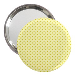 Polka Dots 3  Handbag Mirrors by Valentinaart