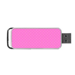 Polka Dots Portable Usb Flash (two Sides) by Valentinaart