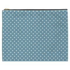 Polka Dots Cosmetic Bag (xxxl)  by Valentinaart