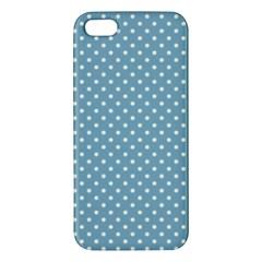 Polka Dots Apple Iphone 5 Premium Hardshell Case by Valentinaart