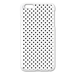 Polka Dots Apple Iphone 6 Plus/6s Plus Enamel White Case by Valentinaart